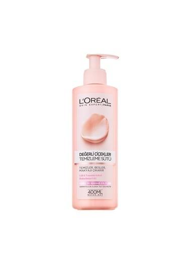 L'Oréal Paris Değerli Çiçekler Temizleme Sütü Kuru Ve Hassas Ciltler Renksiz